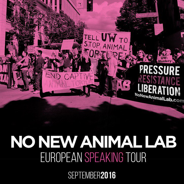 No new animal lab european tour
