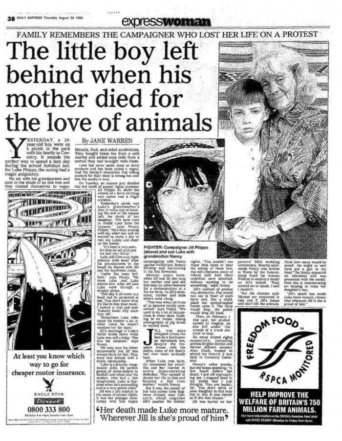 Daily express. 24 agosto de 1995.